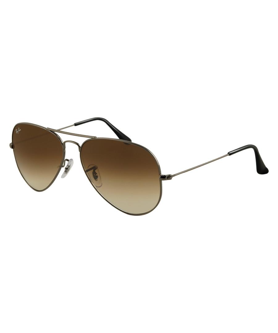 Aviator brown shaded sunglasses Sale - ray-ban