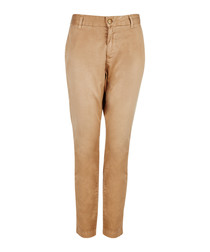 The Buddy camel pure cotton chinos
