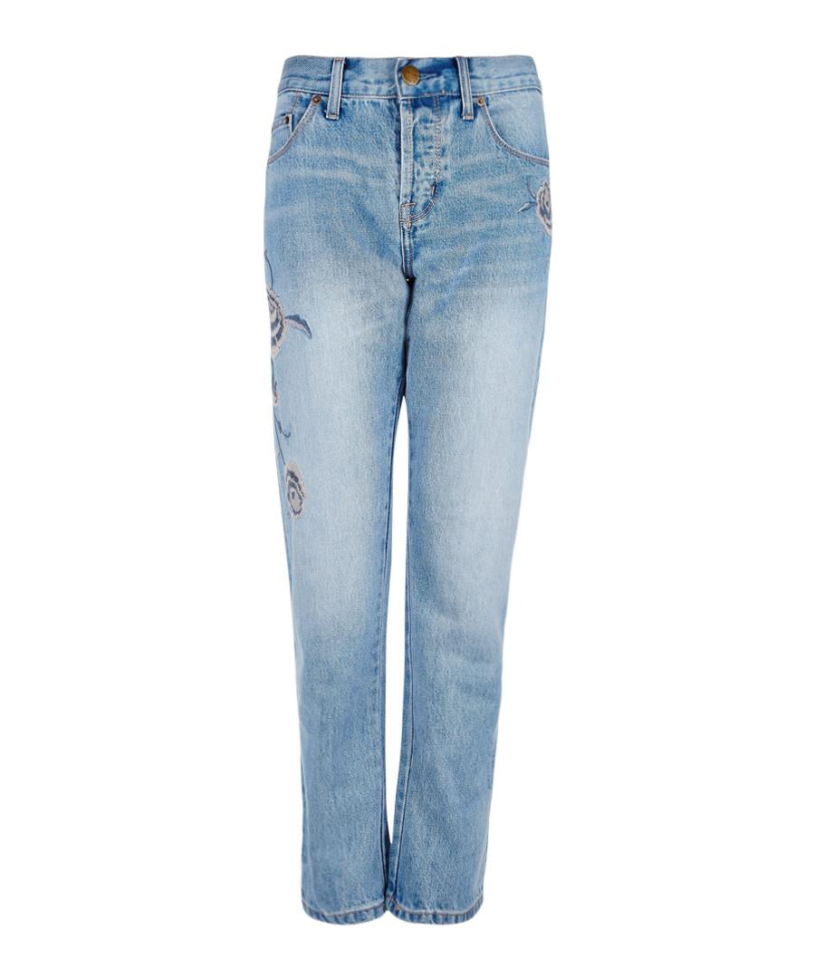 The Crossover Boyfriend cotton jeans Sale - current elliot