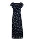 The Ruffle floral pure cotton maxi dress Sale - current elliot Sale