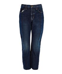The Selvedge Original uneven seam jeans