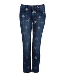 Rollin With The Stars slim cotton jeans