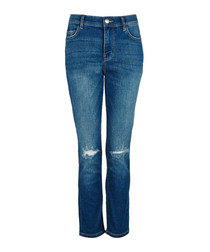 The High Waist straight jeans