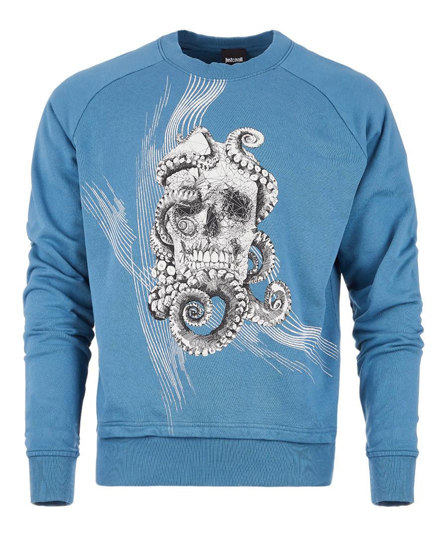 Celeste skull print jumper Sale - just cavalli