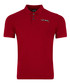 Red cotton logo polo shirt Sale - just cavalli Sale