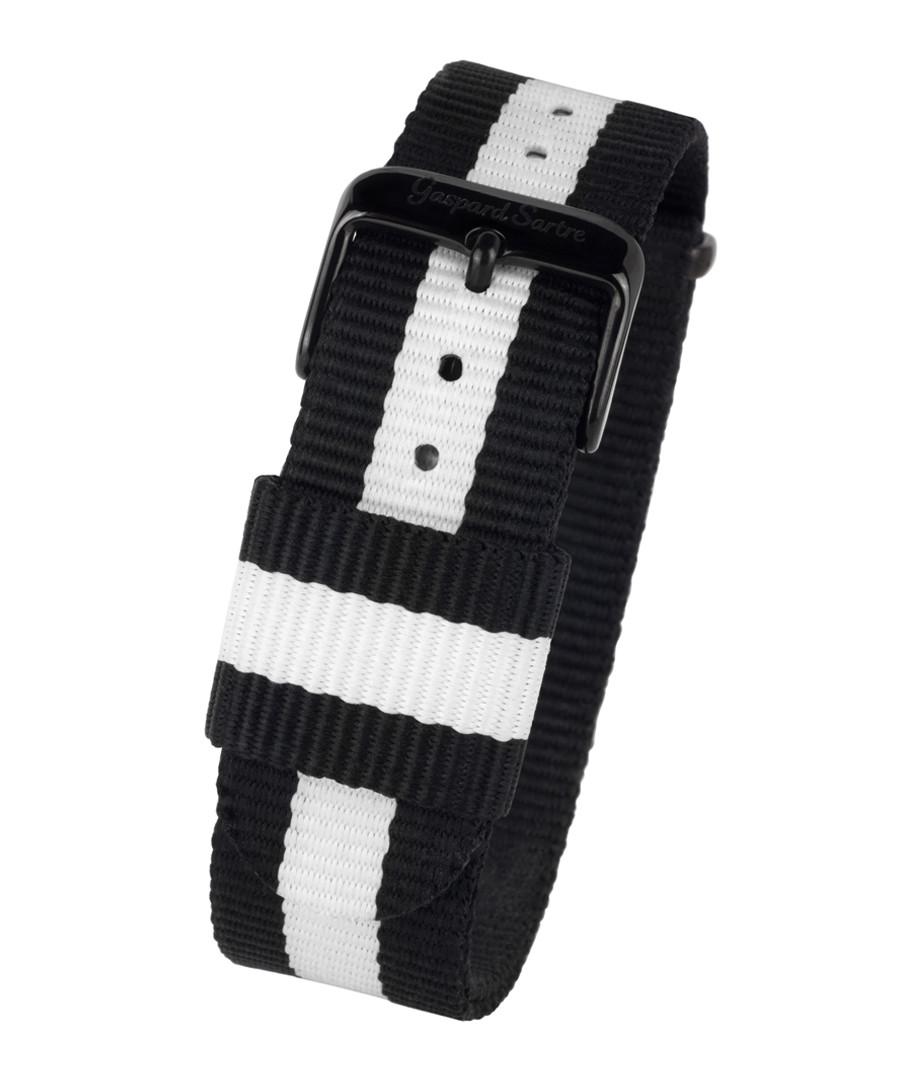L' Imposante black & white strap Sale - gaspard sartre