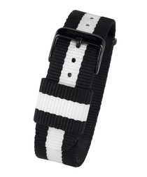 L' Imposante black & white strap