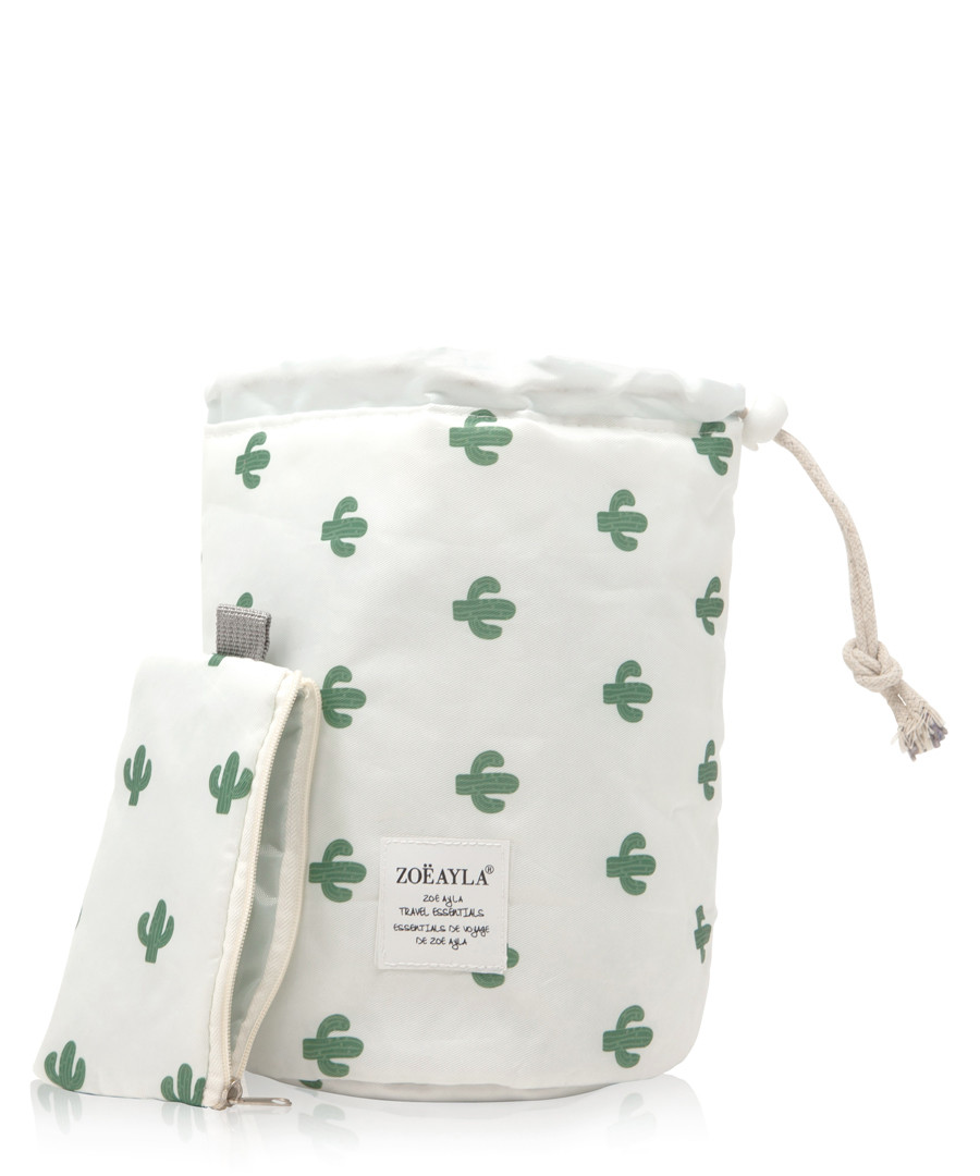 Cactus print cosmetics bag Sale - zoe ayla