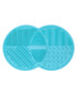 Turquoise silicone brush cleansing tool Sale - zoe ayla Sale
