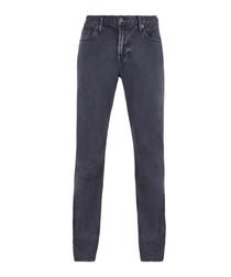 Smoke blue cotton jeans