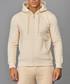 Pale yellow cotton blend zip-up hoodie Sale - criminal damage Sale