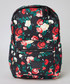 Black & red floral backpack Sale - criminal damage Sale
