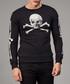 Black & white cotton skull print top Sale - criminal damage Sale
