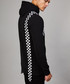 Black & racer print cotton hoodie Sale - criminal damage Sale