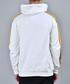White cotton tiger tape detail hoodie Sale - criminal damage Sale