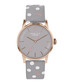 Grey spotted leather & steel watch Sale - radley Sale
