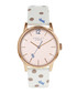White spotted leather & steel watch Sale - radley Sale