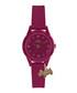 Purple silicone & stainless steel watch Sale - radley london Sale