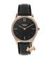 Rose gold-tone steel & leather watch Sale - radley london Sale