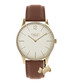 Tan leather & gold-tone steel dog watch Sale - Radley London Sale
