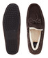 Wentworth walnut leather moccasins Sale - hackett Sale