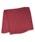Red & white polka modal & cashmere scarf Sale - hackett Sale