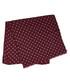 Wine wool & silk flower dot scarf Sale - hackett Sale
