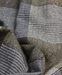 Malton navy & grey wool blend scarf Sale - hackett Sale