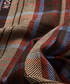 kepwick brown & blue lana wool scarf Sale - hackett Sale