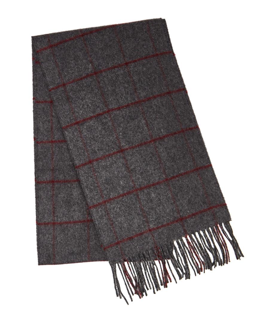 Horse & hound grey pure cashmere scarf Sale - hackett