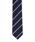 Navy pure silk stripe tie Sale - hackett Sale