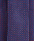 Navy & red pure silk tie Sale - hackett Sale