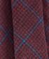 Navy & red wool & silk check tie Sale - hackett Sale