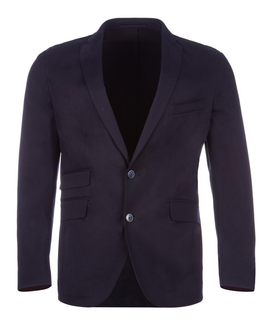 Navy cotton jacket Sale - hackett