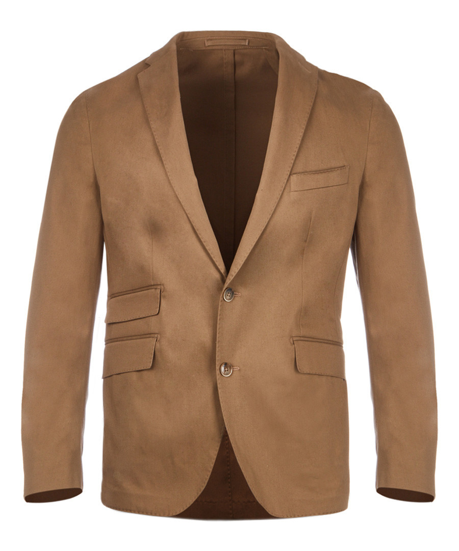 Tan cotton jacket Sale - hackett