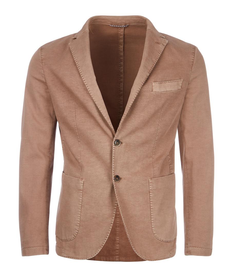 Taupe cotton jacket Sale - hackett