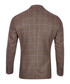 Tan wool & cashmere houndstooth jacket Sale - hackett Sale