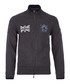 Dark grey wool blend zip-up jumper Sale - hackett Sale