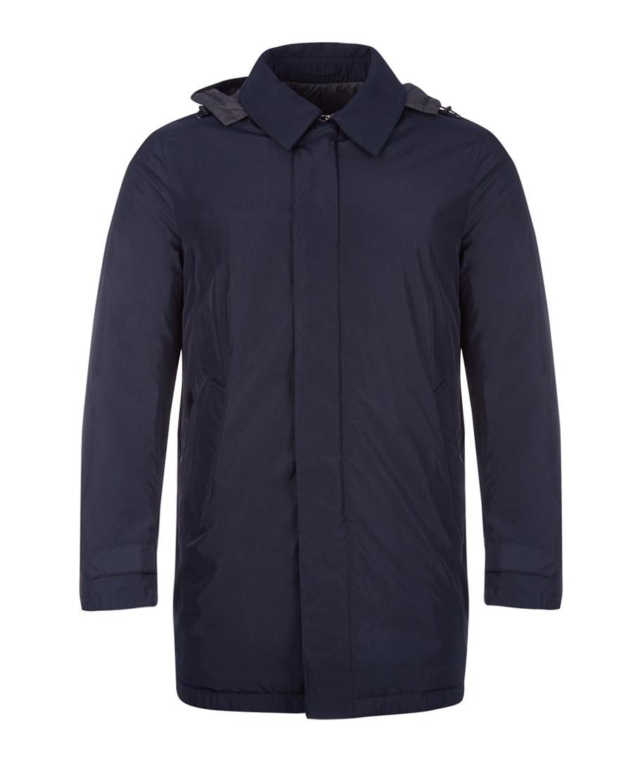 Navy rain mac Sale - hackett