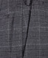 Grey check formal trousers Sale - hackett Sale