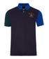 Navy pure cotton polo shirt Sale - hackett Sale