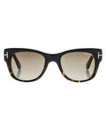 Cary black & graduated lens sunglasses