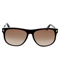 Oliver brown graduated sunglasses