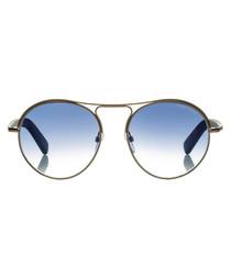 Jessie brown & blue sunglasses