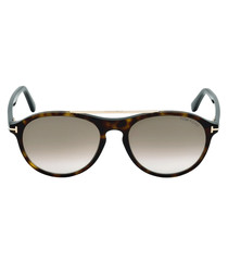 Cameron tortoise & brown sunglasses