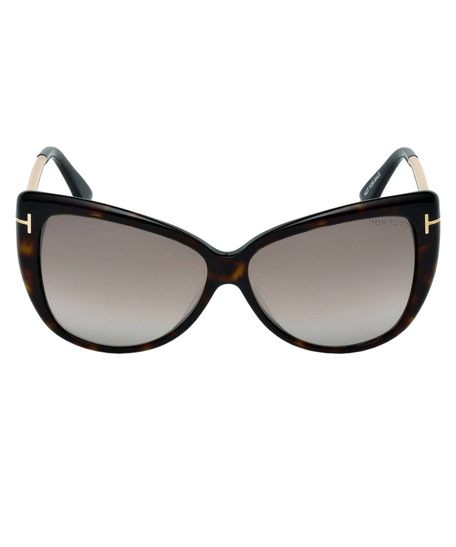 88a3574e67 Reveka dark havana mirror sunglasses Sale - tom ford ...