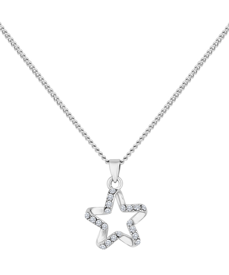 Twinkle 14ct white gold necklace Sale - diamond style