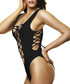 Susie black corset-detail swimsuit Sale - lavishly appointed swim Sale
