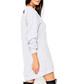 Light grey cotton blend jumper dress Sale - numinou Sale