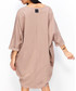 Cappuccino cotton blend oversized dress Sale - numinou Sale